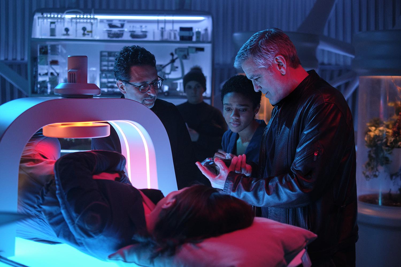 George Clooney, Felicity Jones